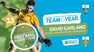 David Garland Player of the year 2020