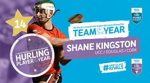 Shane Kingston Player of the year