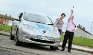 Winners of the Electric Ireland Car compeititon