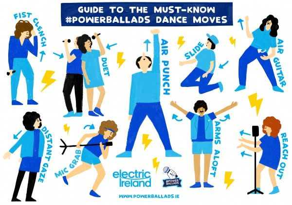 a guide to power ballad dance moves