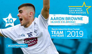 Aaron Browne Minor Football Team of the Year