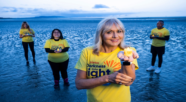 Miriam O'Callaghan Electric Ireland Darkness Into Light