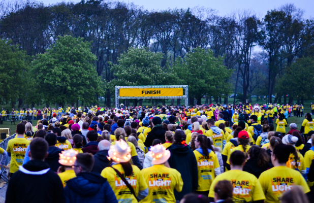 Darkness Into Light Crowd