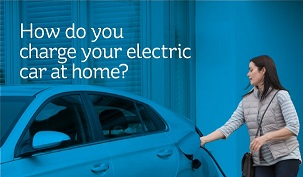 Home charging electric car