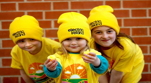 Resized_Kids wearing Electric Ireland Darkness Into Light Hats
