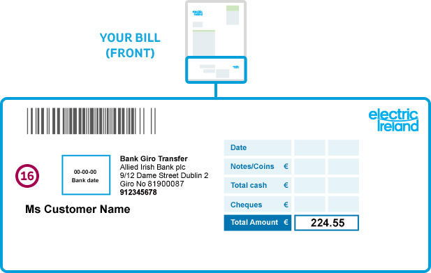 electricity bill explained payment slip for an post of bank paments